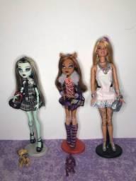 Título do anúncio: Monster High e Barbie
