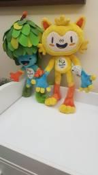 Título do anúncio: Mascote Tom e Vinicius Rio 2016 Olimpiadas 45 Cm