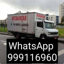 Título do anúncio: Fretes e mudanças em geral contato pelo WhatsApp