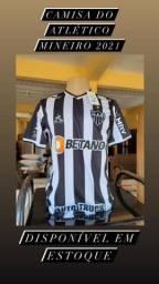 Camisa Atletico Mineiro 21/22 Home Tam P