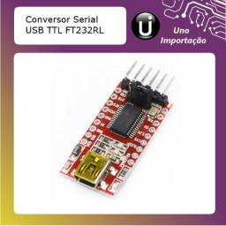 Conversor usb ttl uart ft232rl ft232 5v 3.3v rs232 ftdi