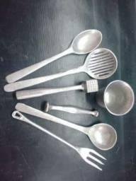 Frisadores e outras pecas em aluminio e metal
