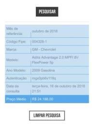 Gm - Chevrolet Astra Astra - Chevrolet - 2009