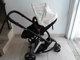 Carrinho + bb conforto 3 rodas safety first