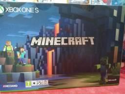 Xbox one s 1tb Minecraft somos loja fisica
