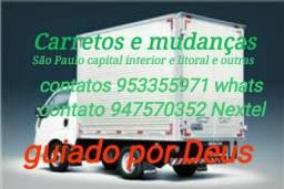 Carretos e mudanças são Paulo capital interior e litoral e outras cidades