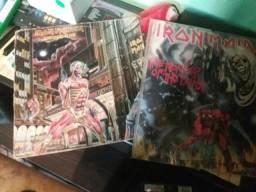 2 Vinis Iron Maiden