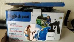 Máquina de pintura pulverizadora