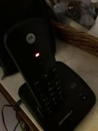 Vendo telefone sem fio usado