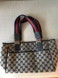 bec762ac2 Bolsa Gucci faixa azul marinho e vermelho