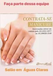 Contratação de Manicure