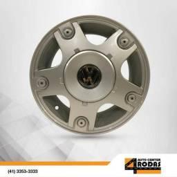 Roda ARO 13 4X100 VW Gol Copa Prata