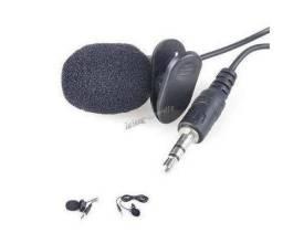 Microfone De Lapela x 12x R$6,00 x Entrega Grátis x Garantia 3 m