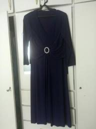 Vestido longo roxo -