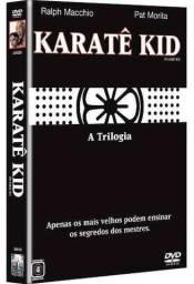 Coleção DVDs trilogia Karatê Kid 1, 2 e 3, novo e original