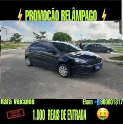 Mega promoção ford ka 1.5 ano 2017 com r$ 1.000 mil de entrada - 2017