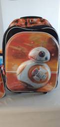 Mochila escolar com lancheira térmica Sestini Star Wars