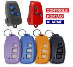Bateria e Controle Portão