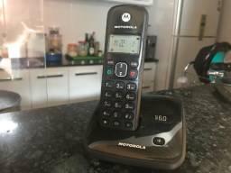 Telefone sem fio Motorola - usado