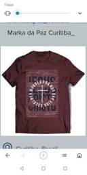 Camisetas com mensagem cristã