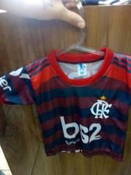 Camisa flamengo infantil