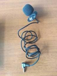 Mini-microfone de lapela
