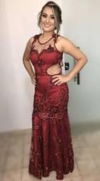 Vestido Estilo Sereia