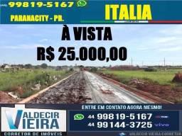 Terreno em Paranacity-PR., R$ 25.000
