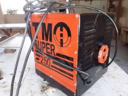 Máquina de solda 250 A. Eletrodo
