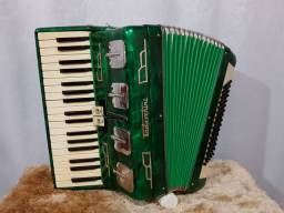 Acordeon Todeschini 80 baixos, selo verde. Ngiulietti scandalli