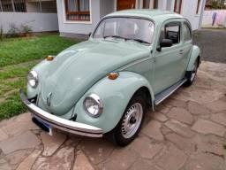 Fusca 1983 1300 Verde Álamo Impecável!