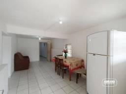 Apartamento térreo com 2 dormitórios para alugar, 70 m² por R$ 950/mês - Capoeiras - Flori