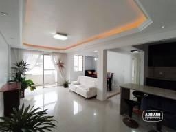 Apartamento com 2 dormitórios para alugar, 74 m² por R$ 1.600,00/mês - Capoeiras - Florian