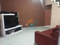 Sobrado com 2 dormitórios para alugar, 100 m² por R$ 900,00/mês - Vila União - Guarulhos/S