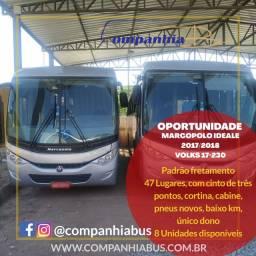 Ônibus Marcopolo Ideale 2017/2018 Volks 17-230