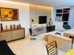 Apartamento de 230 m2 com sauna a vapor e churrasqueira