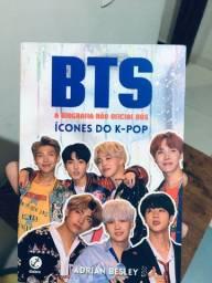 Livro- A Biografia Não Oficial dos Ícones do K-POP+ Pôster oficial.