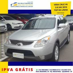 Hyundai Vera Cruz V6 3.8 24V Top de Linha, Impecável e Sem Detalhes - Ipva Grátis - 2010