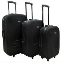 Malas de viagem (kit com 3 malas)