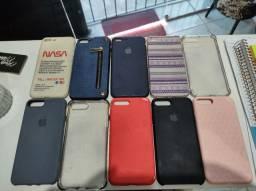 Capas e cases iPhone 8 plus todas R$50,00