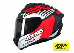 Axxis Draken Z96 Matt Black Red