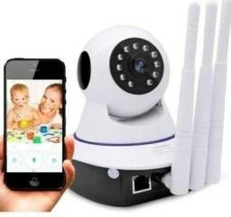 Baba Eletronica Camera Ip Segurança Criança Bebê Idoso Monitore Qualquer Lugar do Mundo