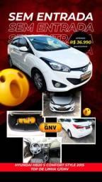 Hb20 S 2015 confort style top gnv 5 geração ent : 2.990,00 + 990,90
