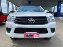 Toyota Hilux cabine simples 4x4 diesel manual 2017
