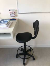 Cadeira alta mocho sela p/ Estética, Dentista