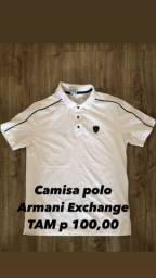 Camisa polo Armani Exchange Original