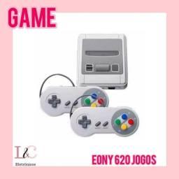 Super nitendinho eony com 620 jogos clássicos com 2 controles