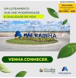 Vendo lotes no bairro planejado Morada da boa vizinhança em Parnaíba Piauí