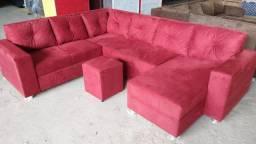 Título do anúncio: Sofa grande confortável entrega grátis