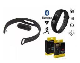 Relogio Inteligente Smartband Bluetooth M2 Monitor Cardíaco